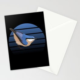 jz.birds Nuthatch Bird Animal Stationery Cards