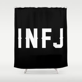 INFJ Shower Curtain