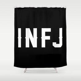 INFJ Shower Curtain