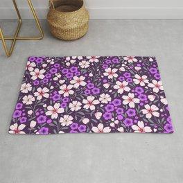 22 Pretty floral pattern. Rug