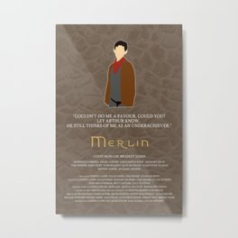 Merlin Metal Print