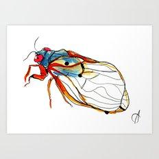 Cicada II Art Print