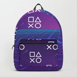 Vaporwave Playstation Neon Aesthetic Backpack