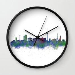 Berlin City Skyline HQ2 Wall Clock