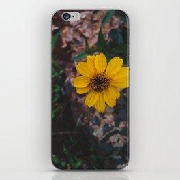 Yellow flower iPhone Skin