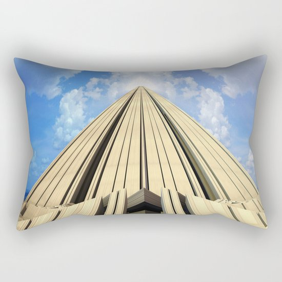 Pyramid of the Daylight Rectangular Pillow
