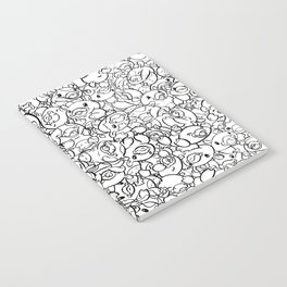 65 Cows Tiled Notebook