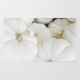 White Pumpkins Rug