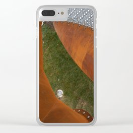 Iron structure Clear iPhone Case