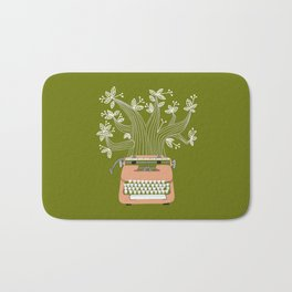 The Typing Tree Pink Bath Mat