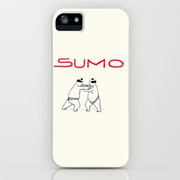 SUMO iPhone Case