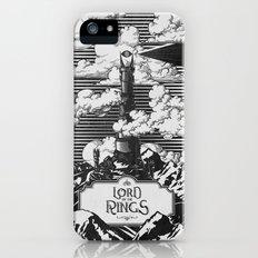 Lord of the Rings Mordor Tower Vintage Geek Art Slim Case iPhone (5, 5s)