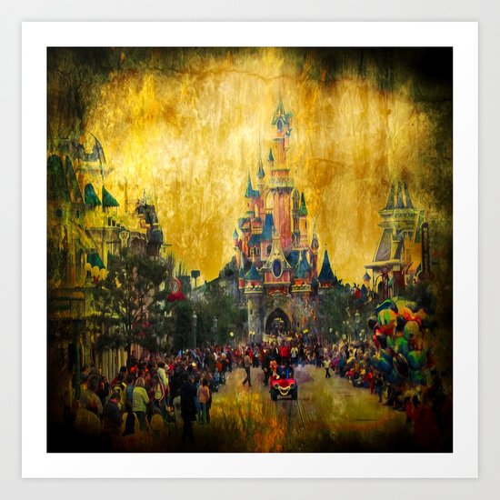 Disney World Art Print