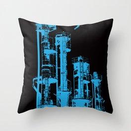 Factory Jump Throw Pillow