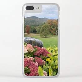 Scenic Vermont Clear iPhone Case