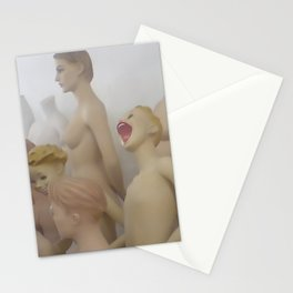 Mannequins III Stationery Cards
