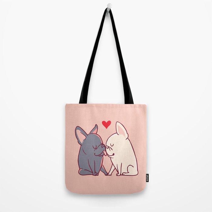 French Kiss Tote Bag