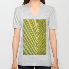 Sunlit Palm  Unisex V-Neck