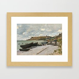 Claude Monet - Sainte-Adresse, 1867 Framed Art Print