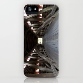 Inside A Covered Bridge iPhone Case