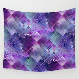 Marbleized Amethyst Wall Tapestry