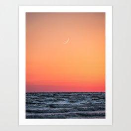 Sandbanks Sunset 1 Art Print