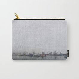Moored in the Mist Carry-All Pouch
