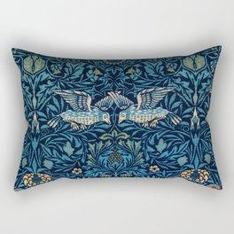 William Morris Birds Rectangular Pillow