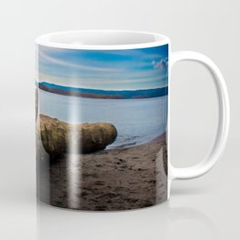 Exposition in Blue Coffee Mug
