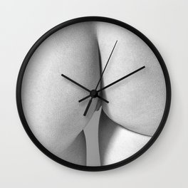 Imperfect Symmetry in a woman body Wall Clock