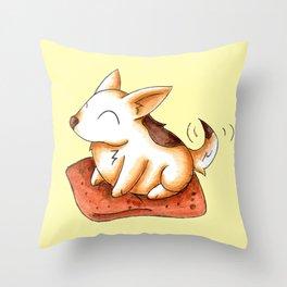 Doggomallow Throw Pillow