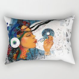 birth of a tune Rectangular Pillow