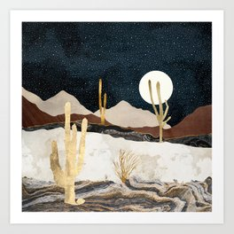 Desert View Art Print