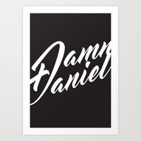 #DAMN DANIEL Art Print