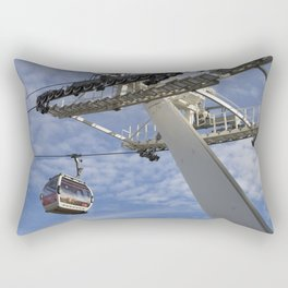 Emirates Cable Car London Rectangular Pillow