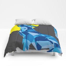 Geo Wolf Comforters