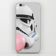 Stormtrooper Bubble Gum 02 iPhone & iPod Skin
