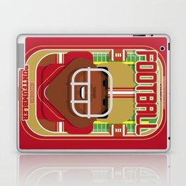 American Football Red and Gold - Enzone Puntfumbler - Hayes version Laptop & iPad Skin