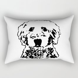 Goldendoodle Dog Rectangular Pillow