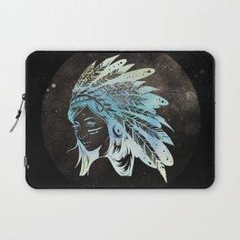 Moon Child Goddess Bohemian Girl Laptop Sleeve