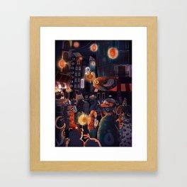 One of Many Journeys Framed Art Print