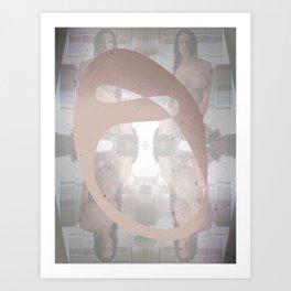 Sexz mask Art Print