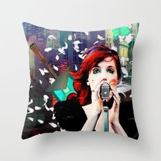 Transistor - Before We All Become One… Throw Pillow