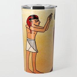 Cicero, Tending to Mummy Travel Mug