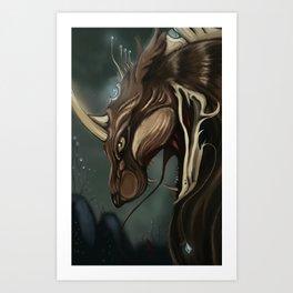 Astral Beast Art Print