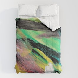 Abstract Artwork Colourful #1 Comforters
