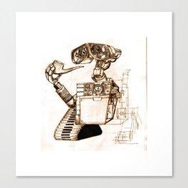WALL-ace Canvas Print
