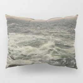 Waves at sunset Pillow Sham