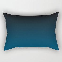 Cerulean Ombre Rectangular Pillow