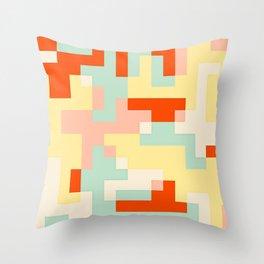 pixel 002 01 Throw Pillow